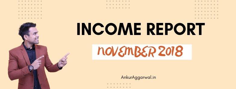 Income Report November 2018
