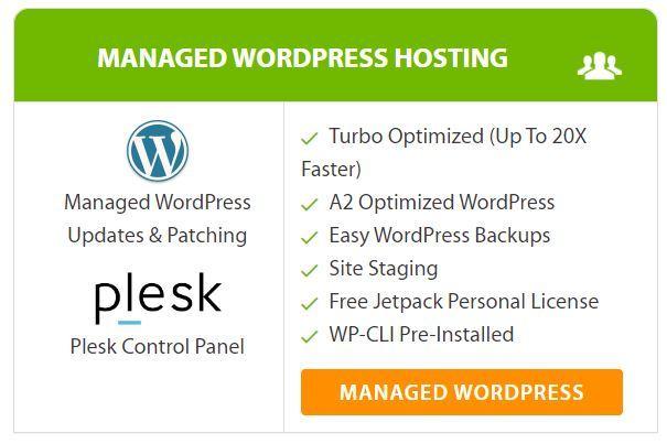 A2 Managed WordPress Hosting